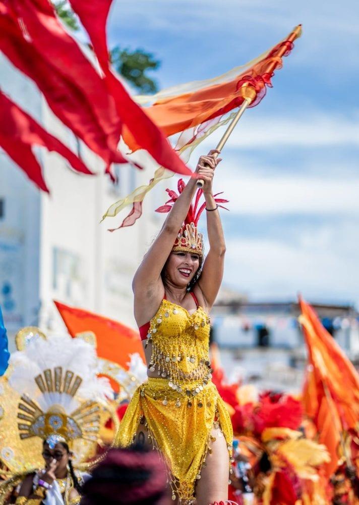 carnival belize flag caribbean