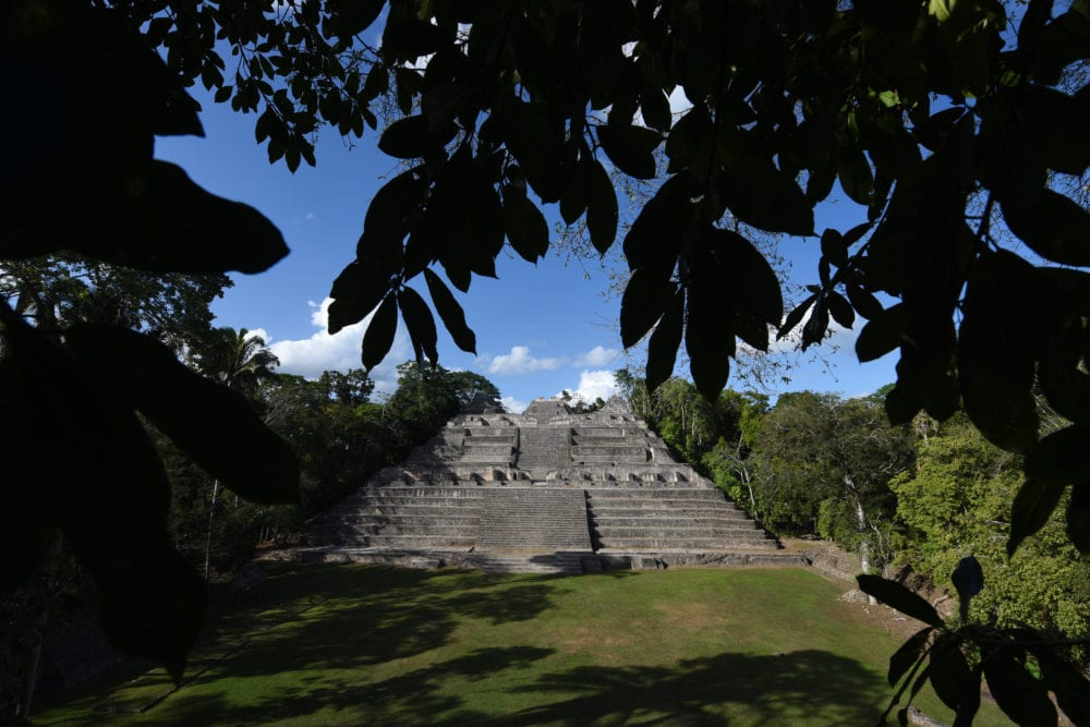 The epicentre of the Mayan World