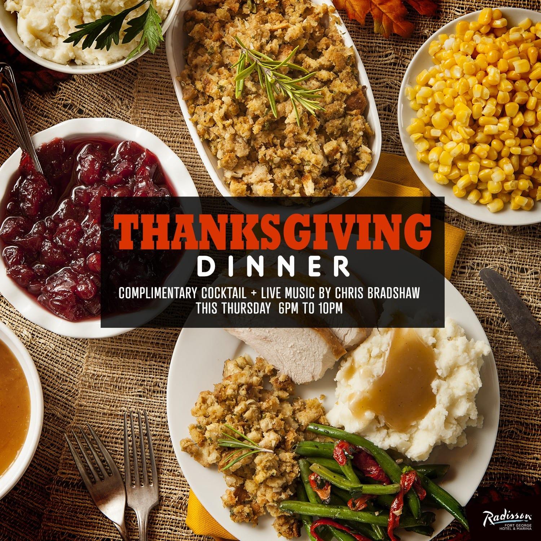radisson thanksgiving dinner