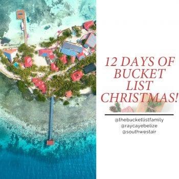 bucket list christmas