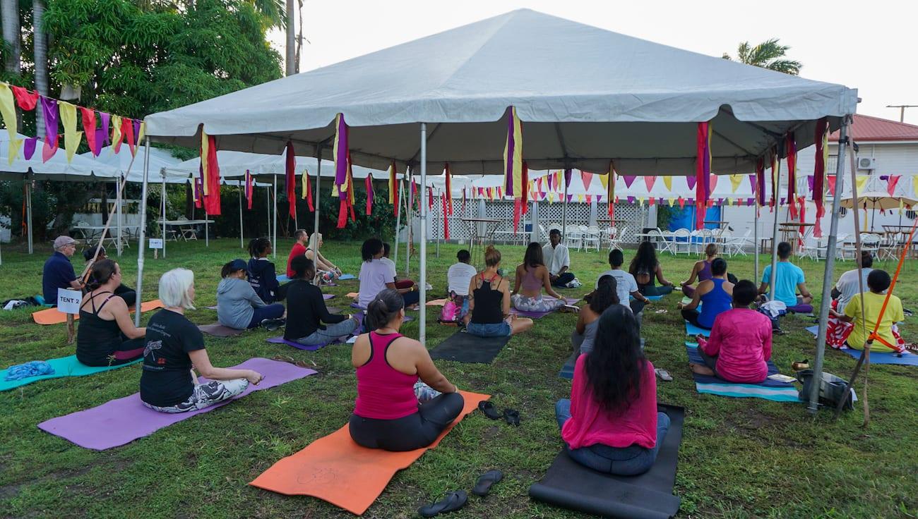 Belize international yoga fest