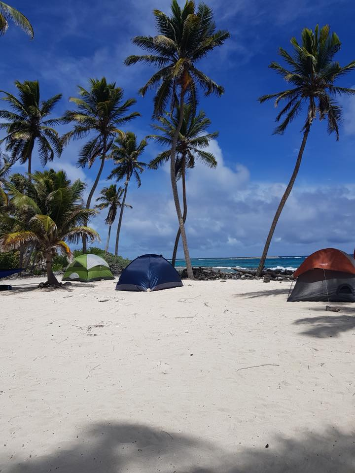 campgrounds at half moon caye