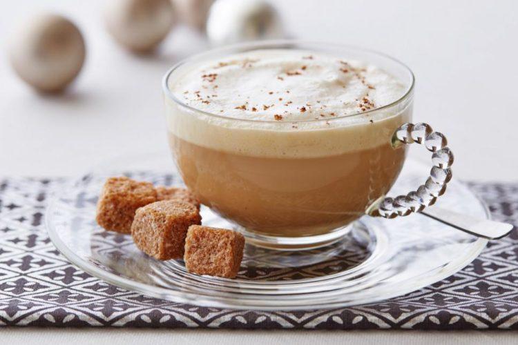 rumpopo hot latte