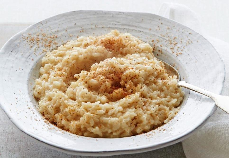 rumpopo rice pudding