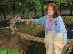 sharon and junior from belize zoo