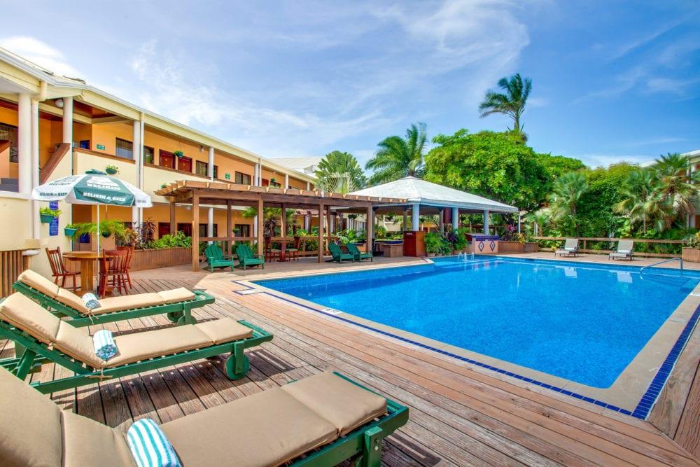 Belize Biltmore plaza pool