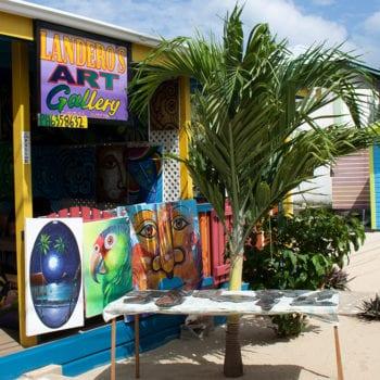placencia sidewalk art festival