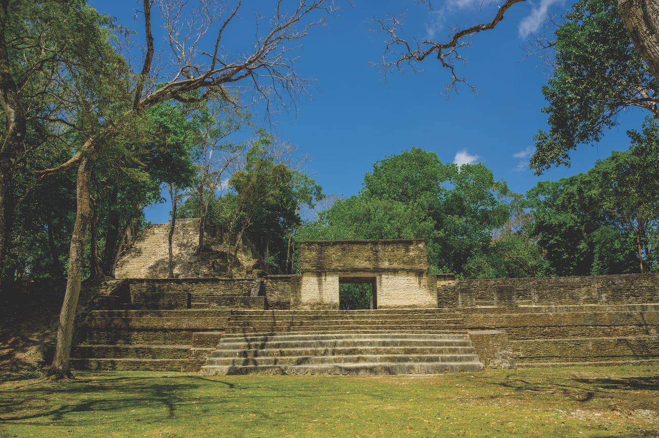cahal pech maya site