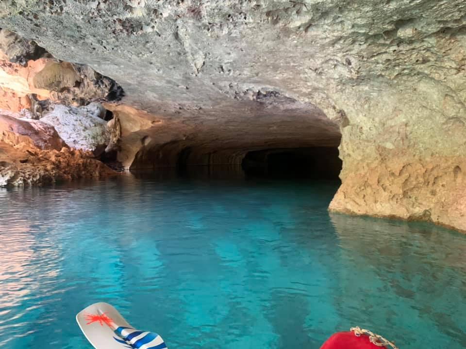 cave kayaking nohoch che'en