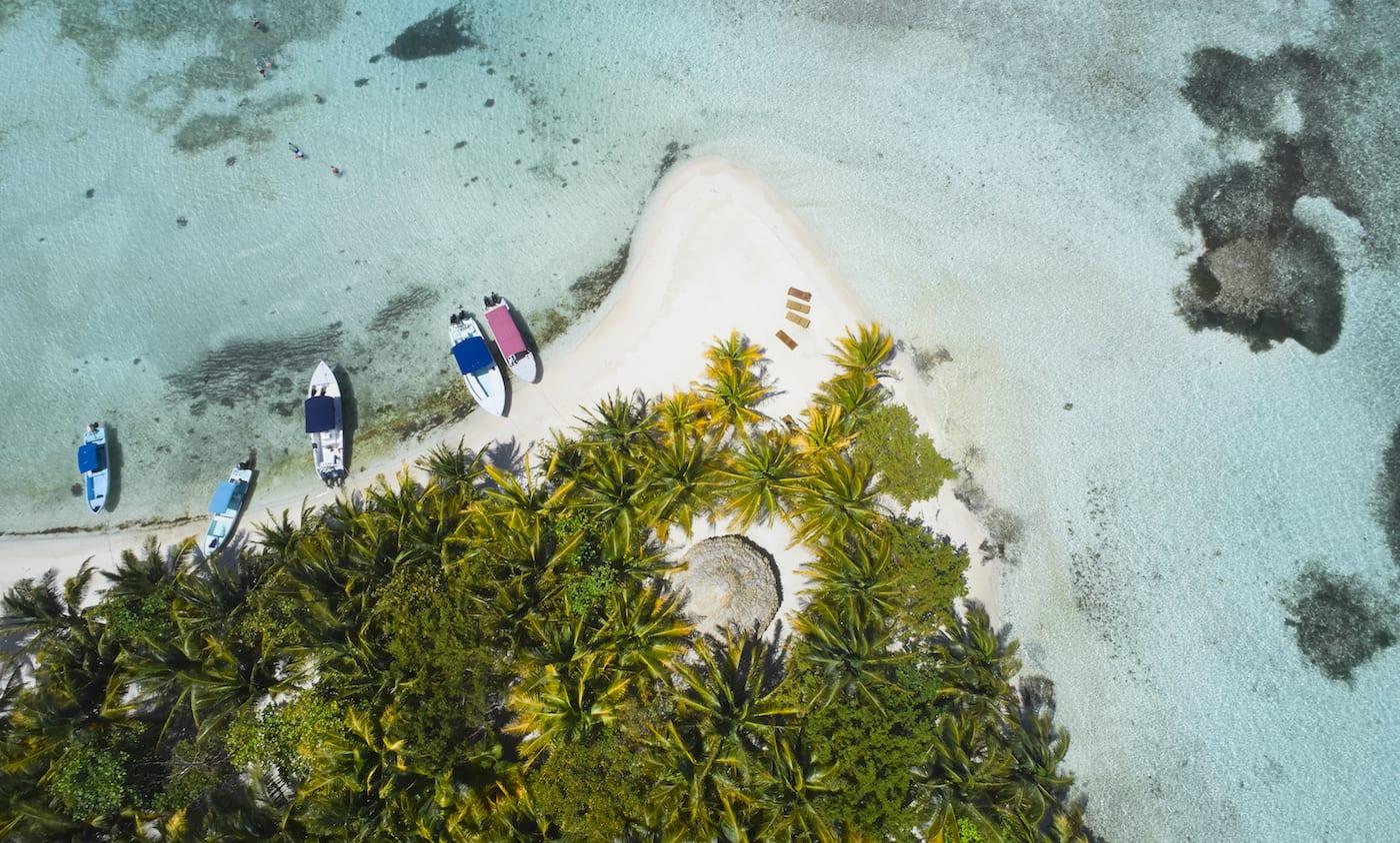 Moho Caye Belize island