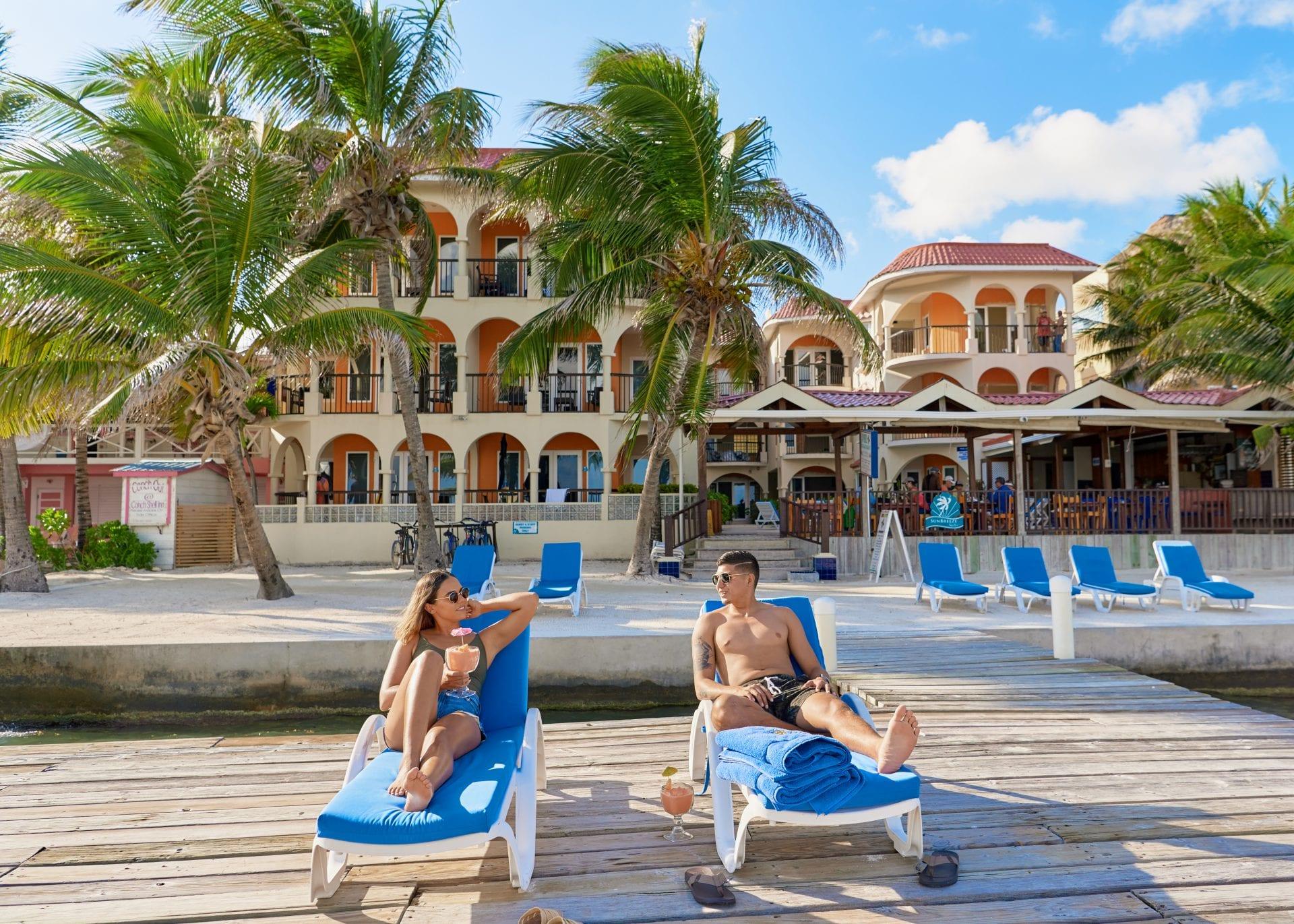 Romantic Belize Beach Getaway
