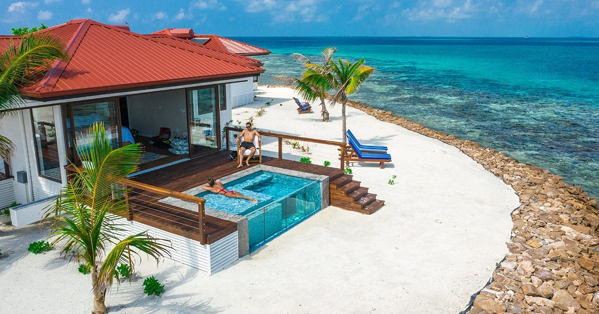 Ray Caye private island resort belize