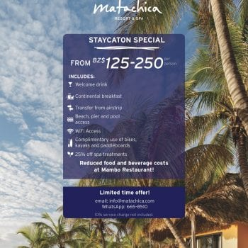 matachica staycation special