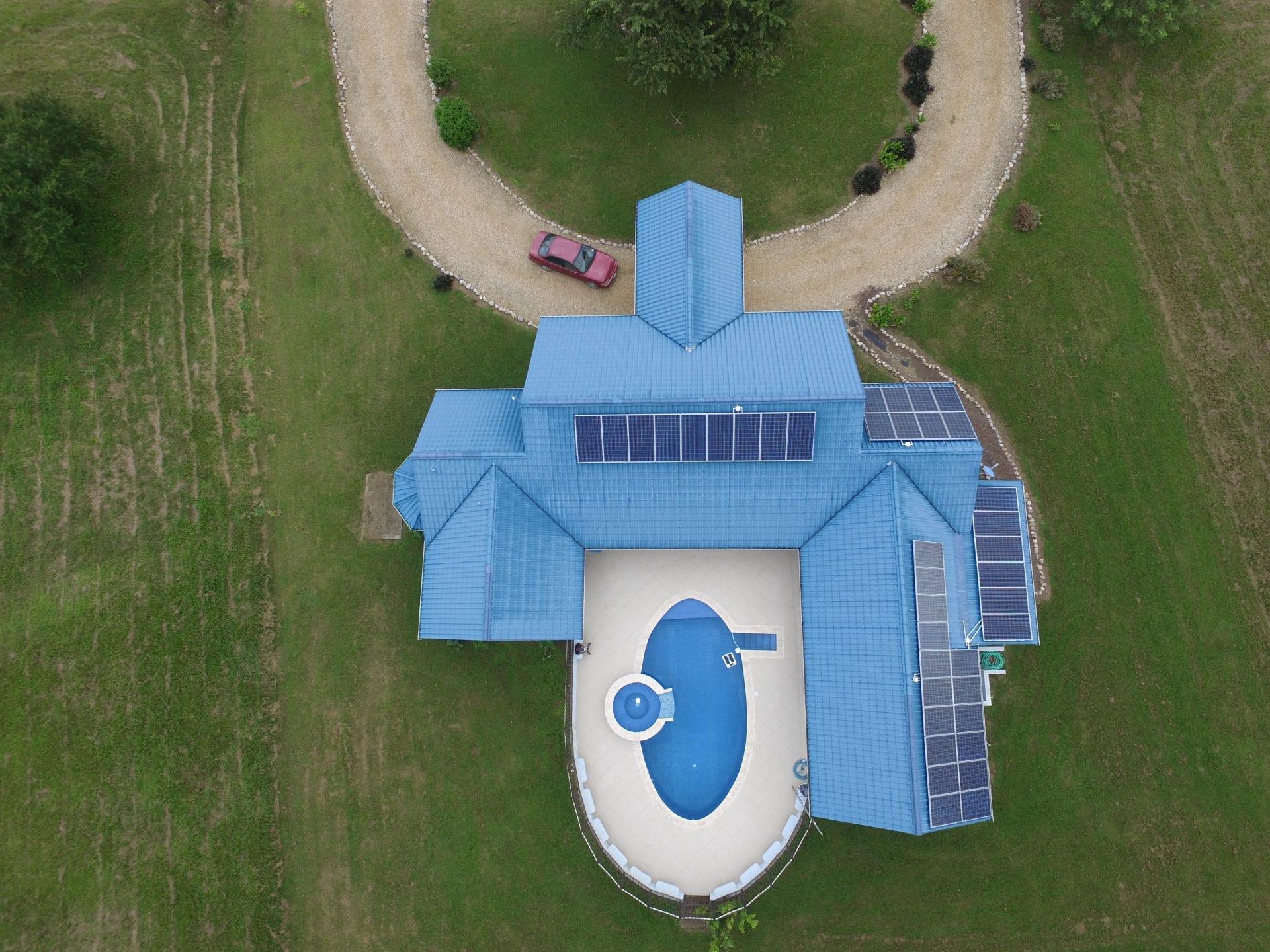 Casa del Rio - Aerial Carmelita Gardens