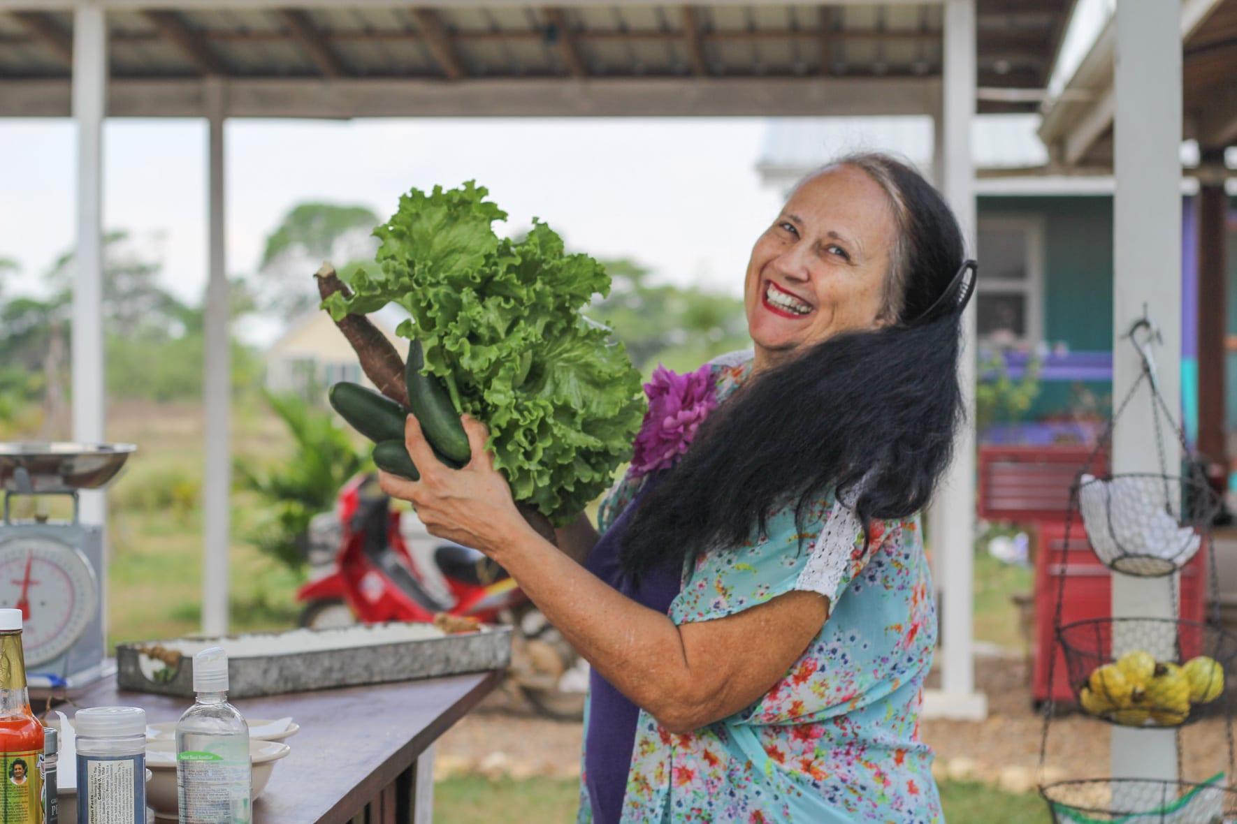 Carmelita Gardens vegetables