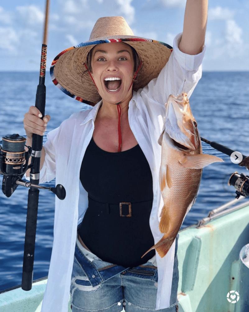 fishing with Ray Caye