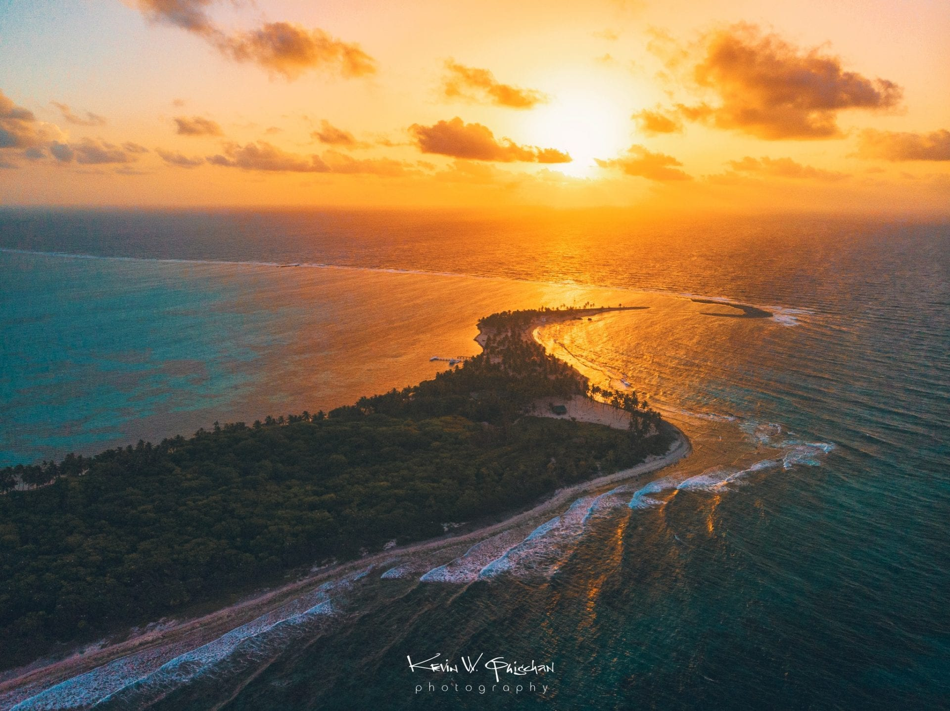 Half Moon Caye sunrise