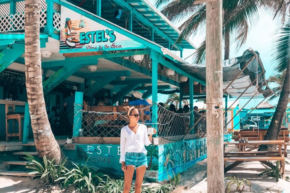 San Pedro estels roeming gen Z beach belize