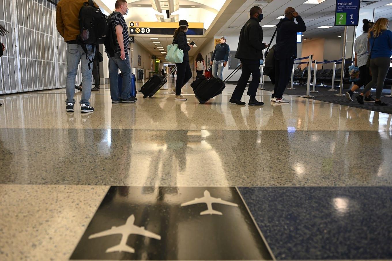 Houston airport covid19