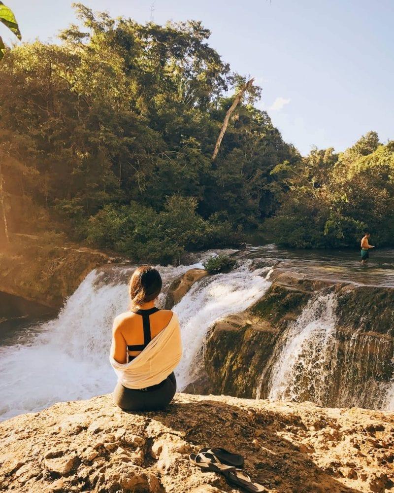 Rio Blanco Falls water