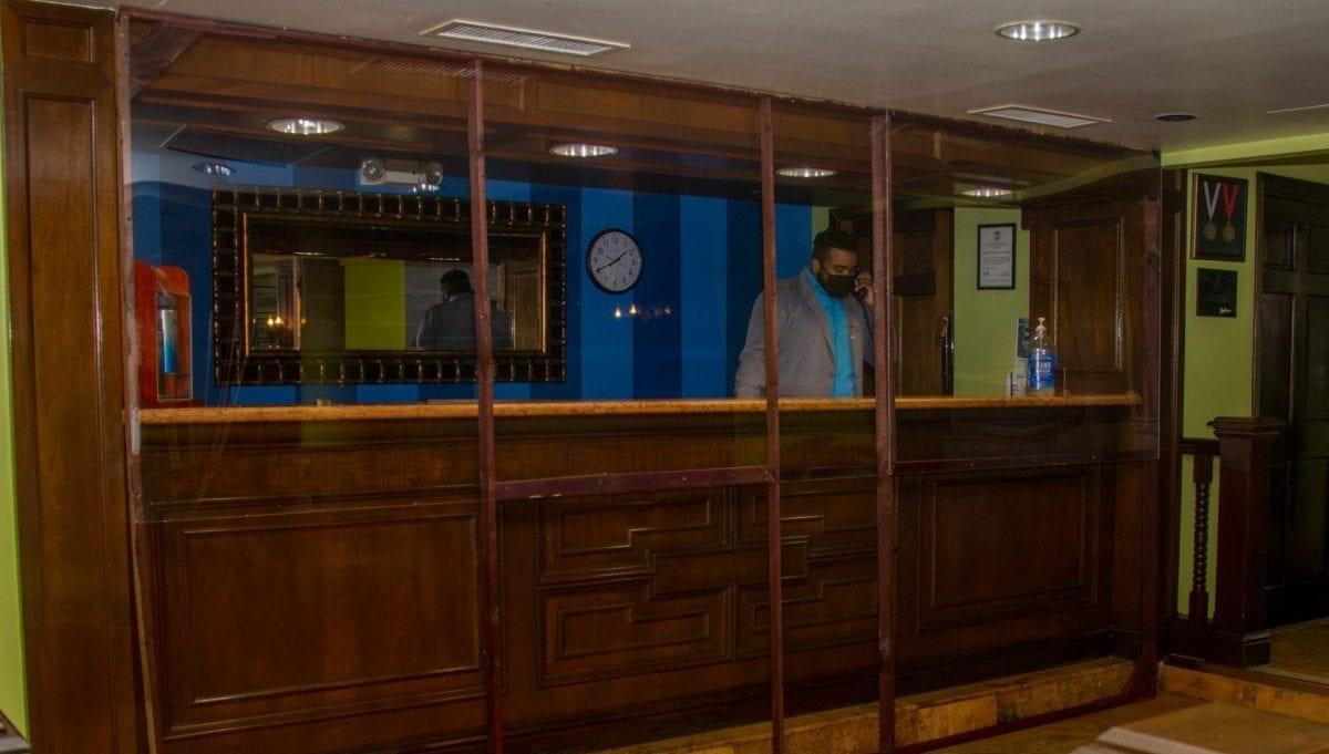 Radisson hotel ft. George partition Belize City