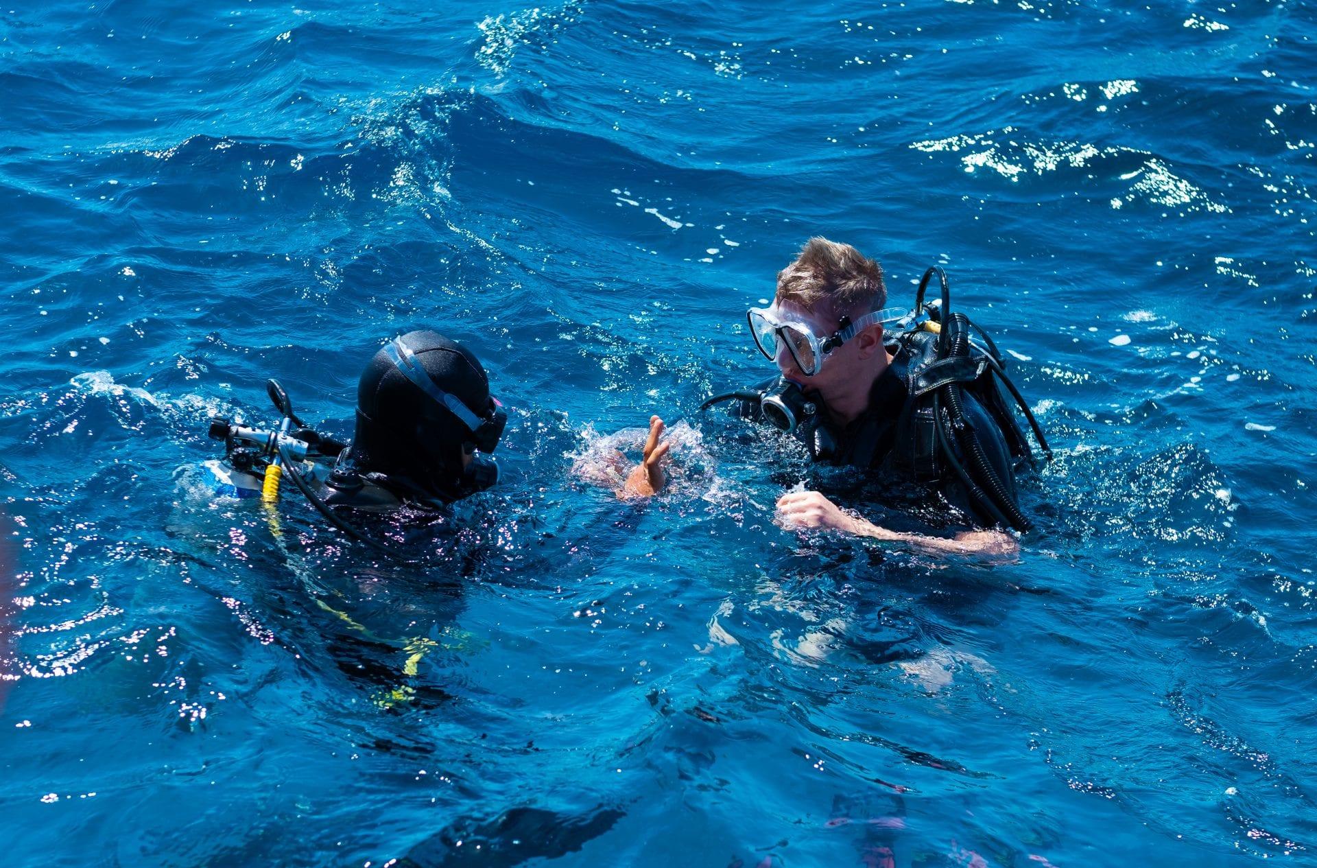 scuba diving ramons autism stock
