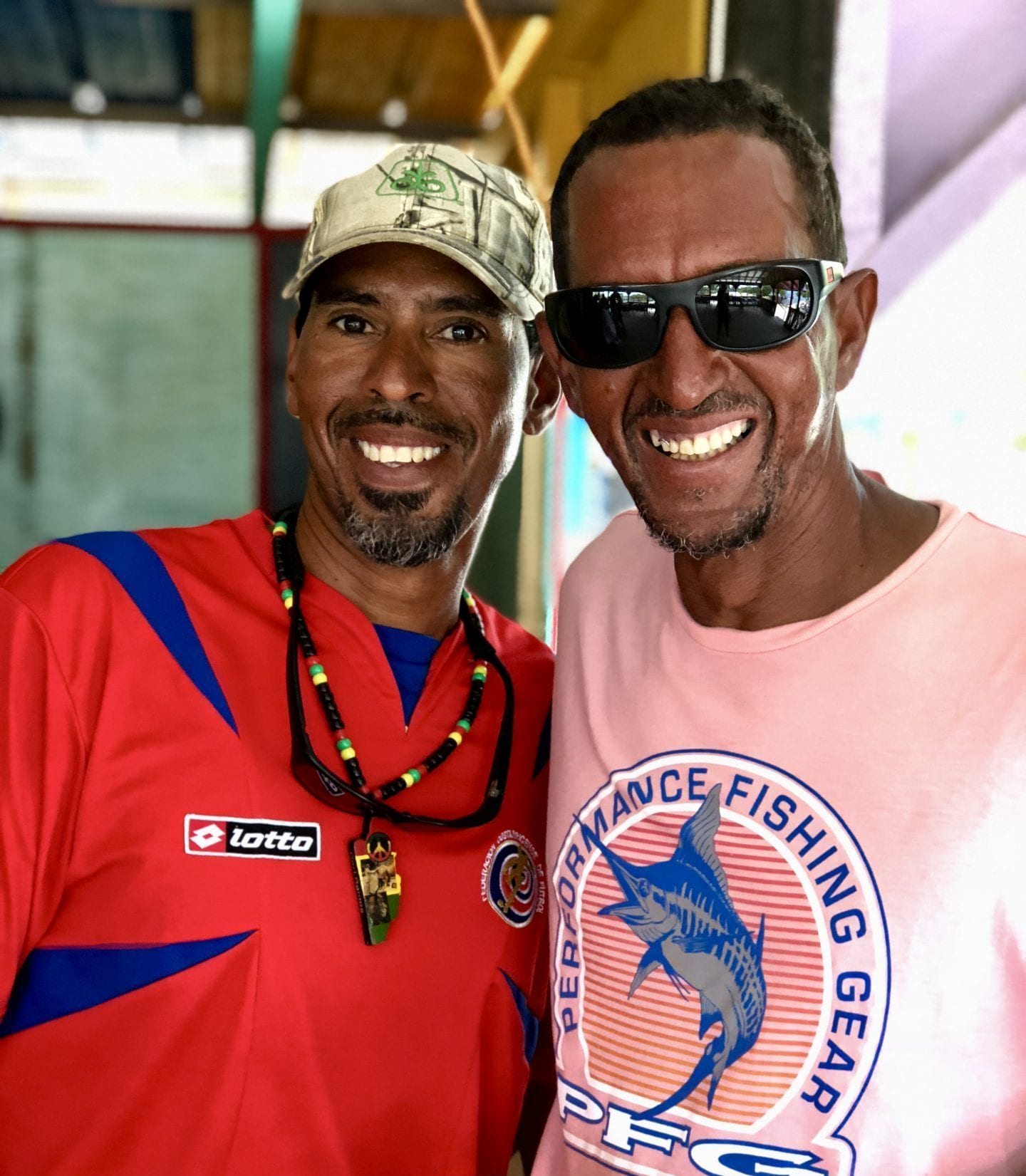 friendly Belizean smiles