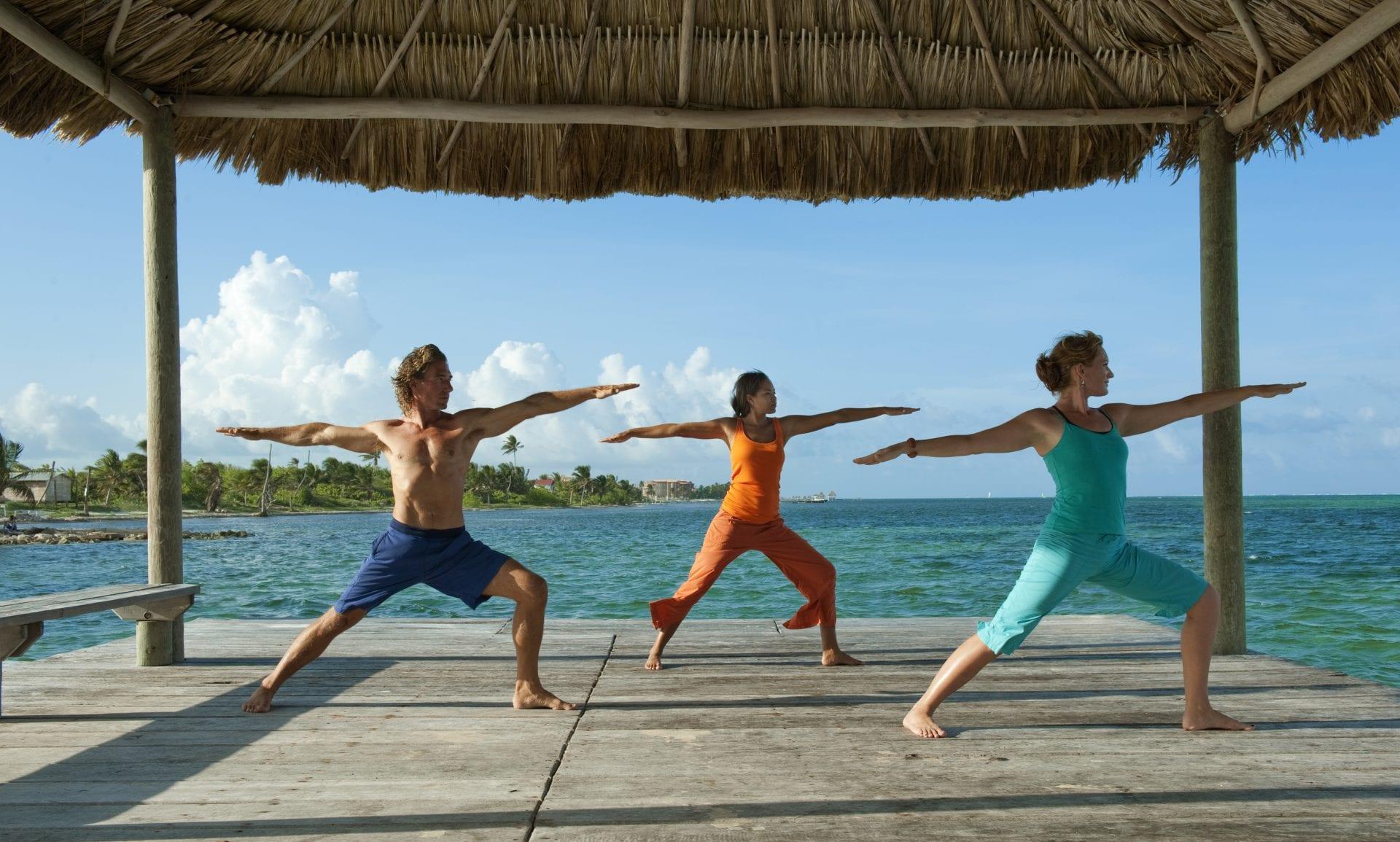 YogaClasses beach Las Terrazas san Pedro resort