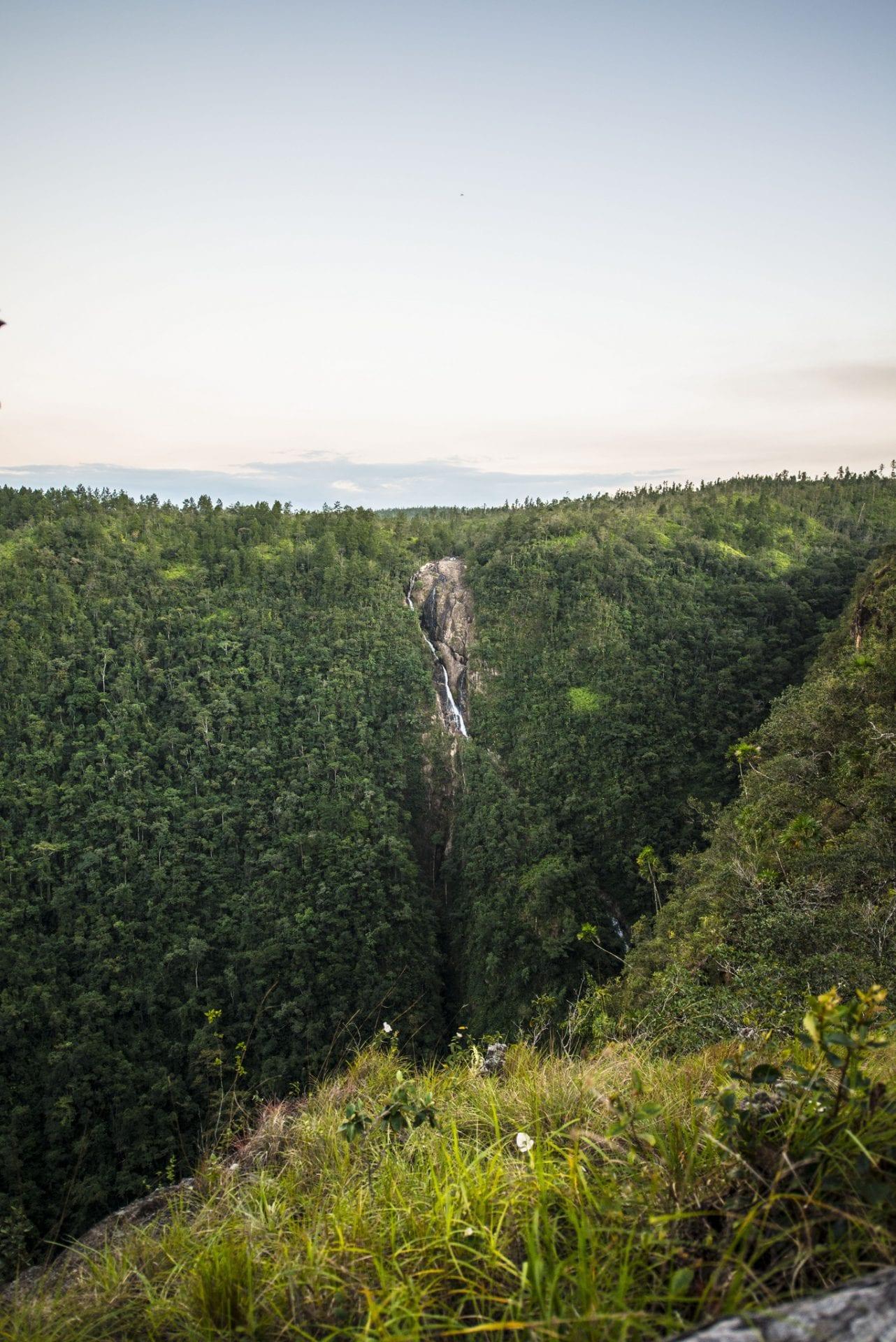 1000 foot falls belize plan visit