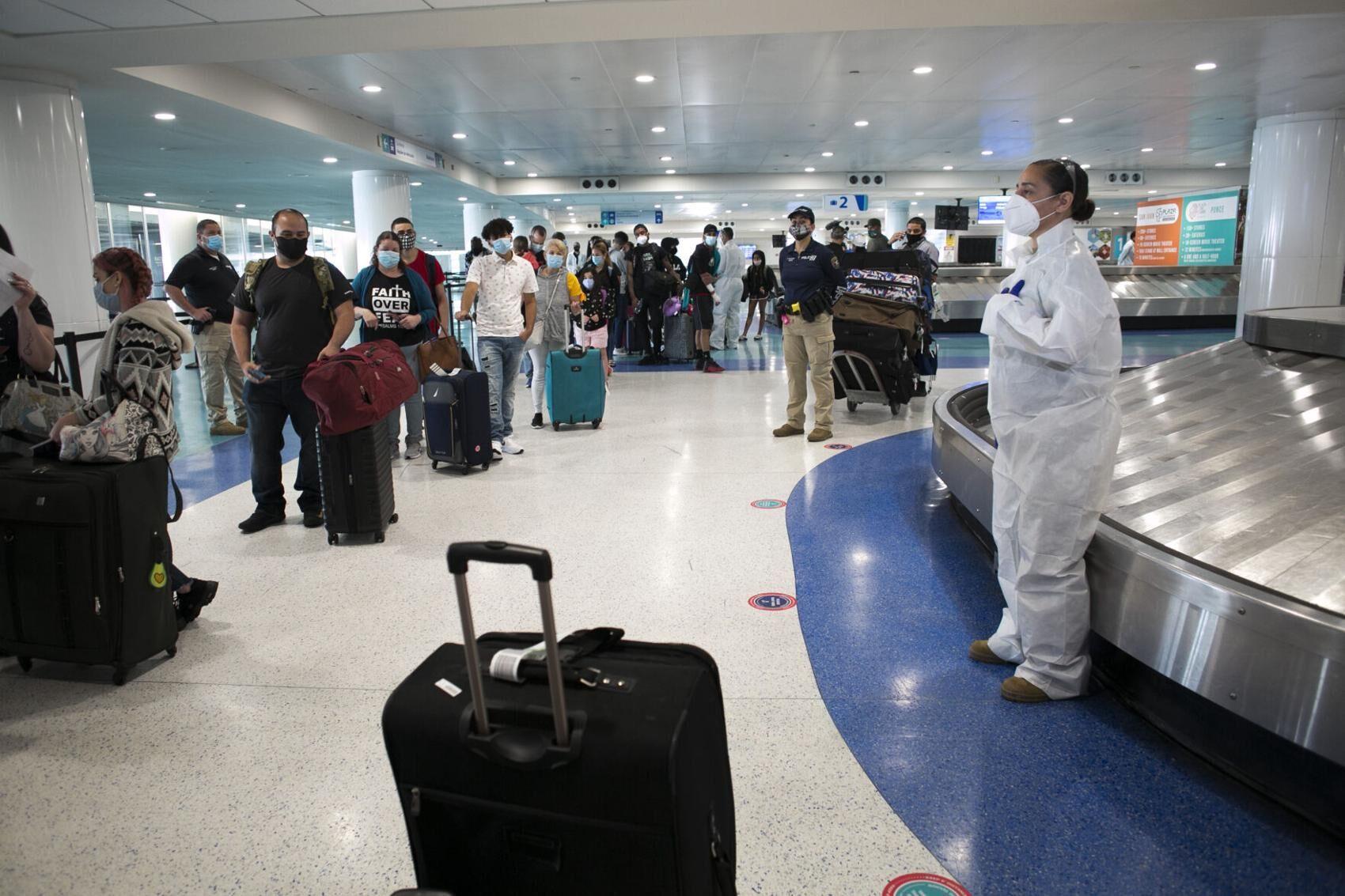 Puerto Rico Caribbean travel health screening