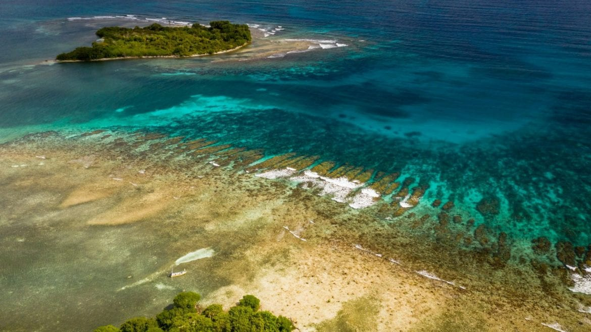 reef cuts southern belize