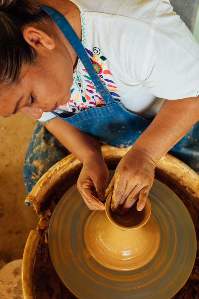 visit belize pottery San Antonio