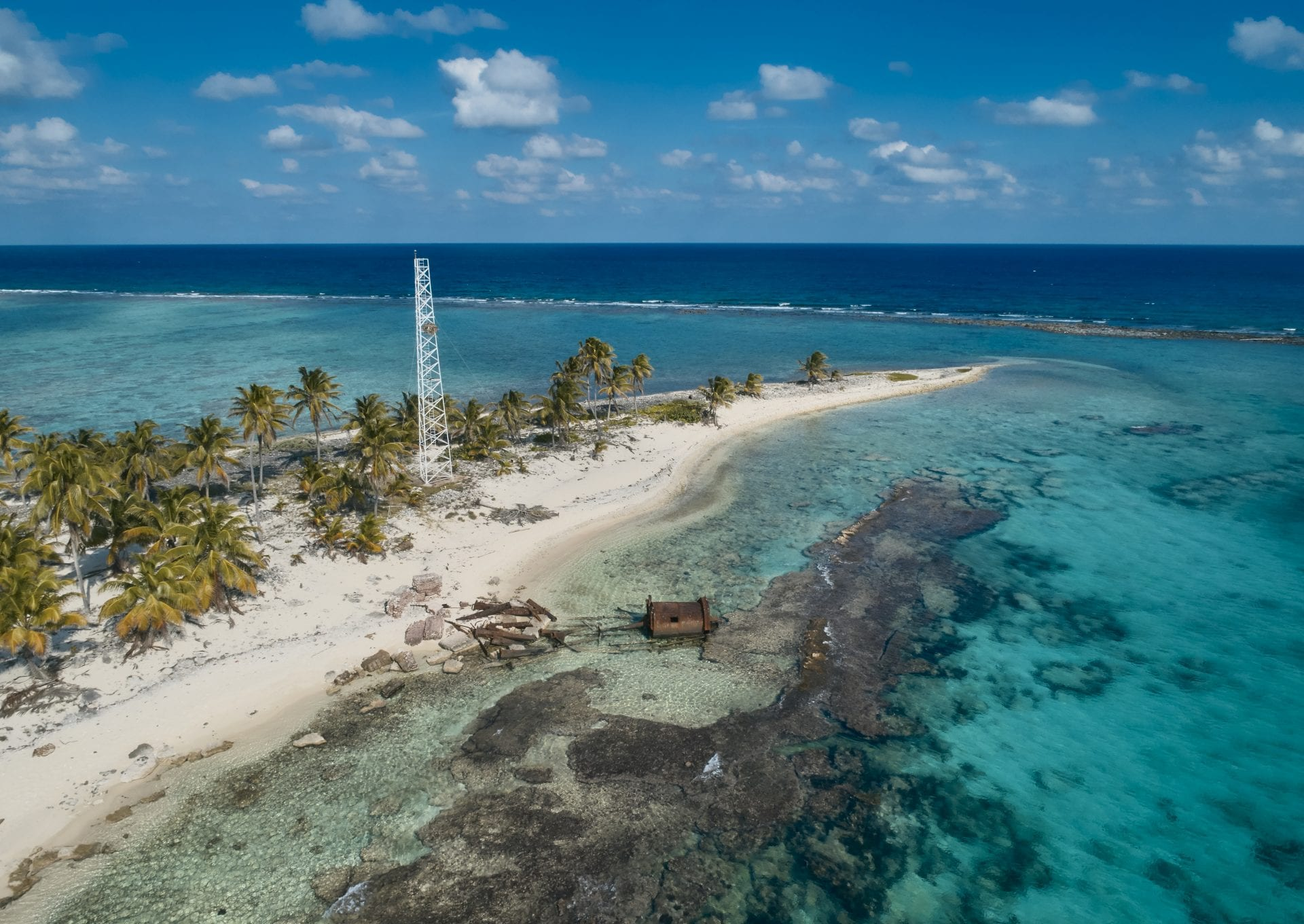 Half Moon Caye island getaway belize