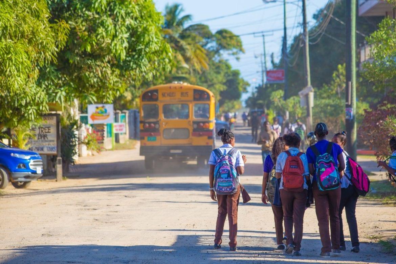 children Hopkins school belize