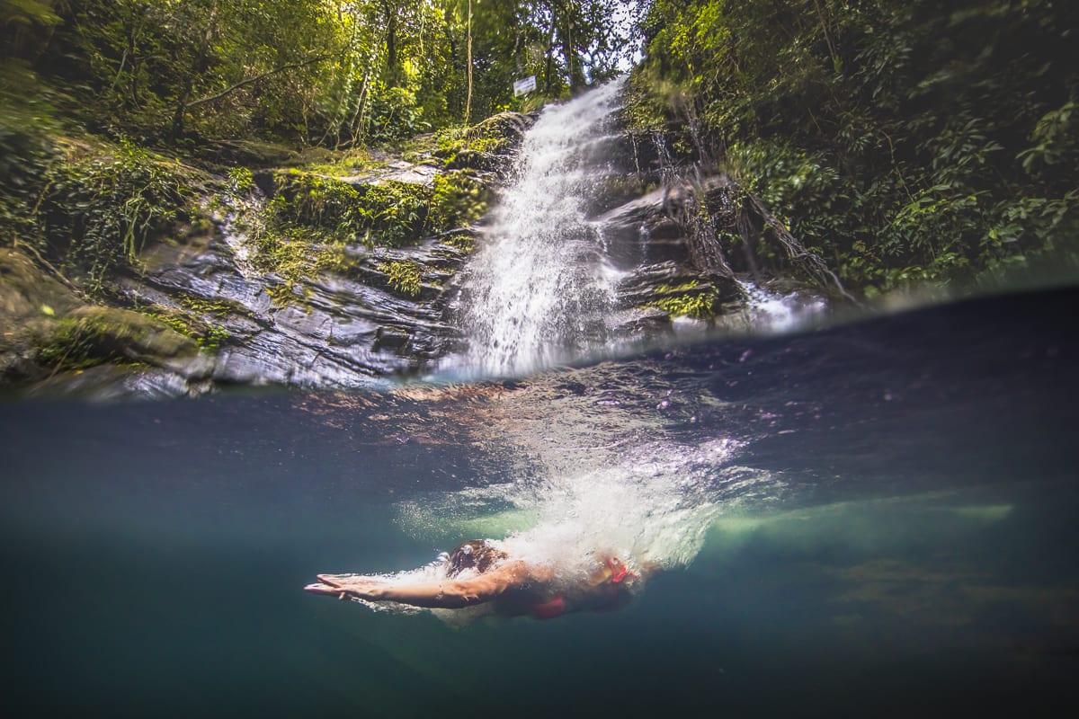 Maya king waterfall belize 2021