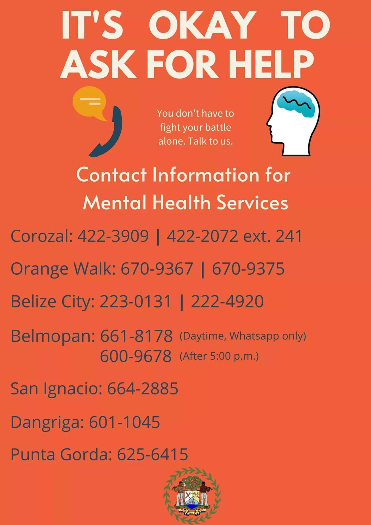 mental health covid19 coping belize