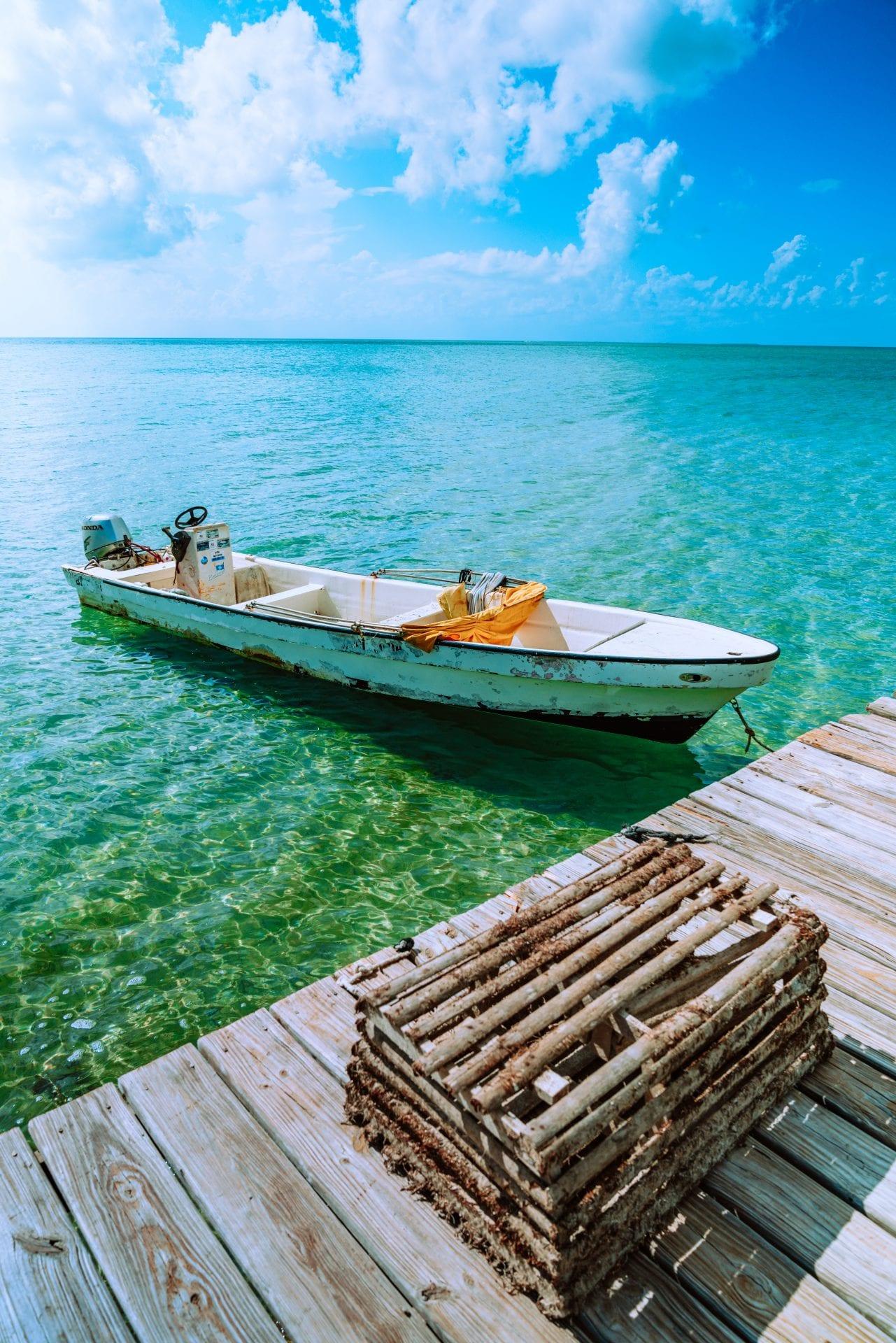 belize boat lobster trap