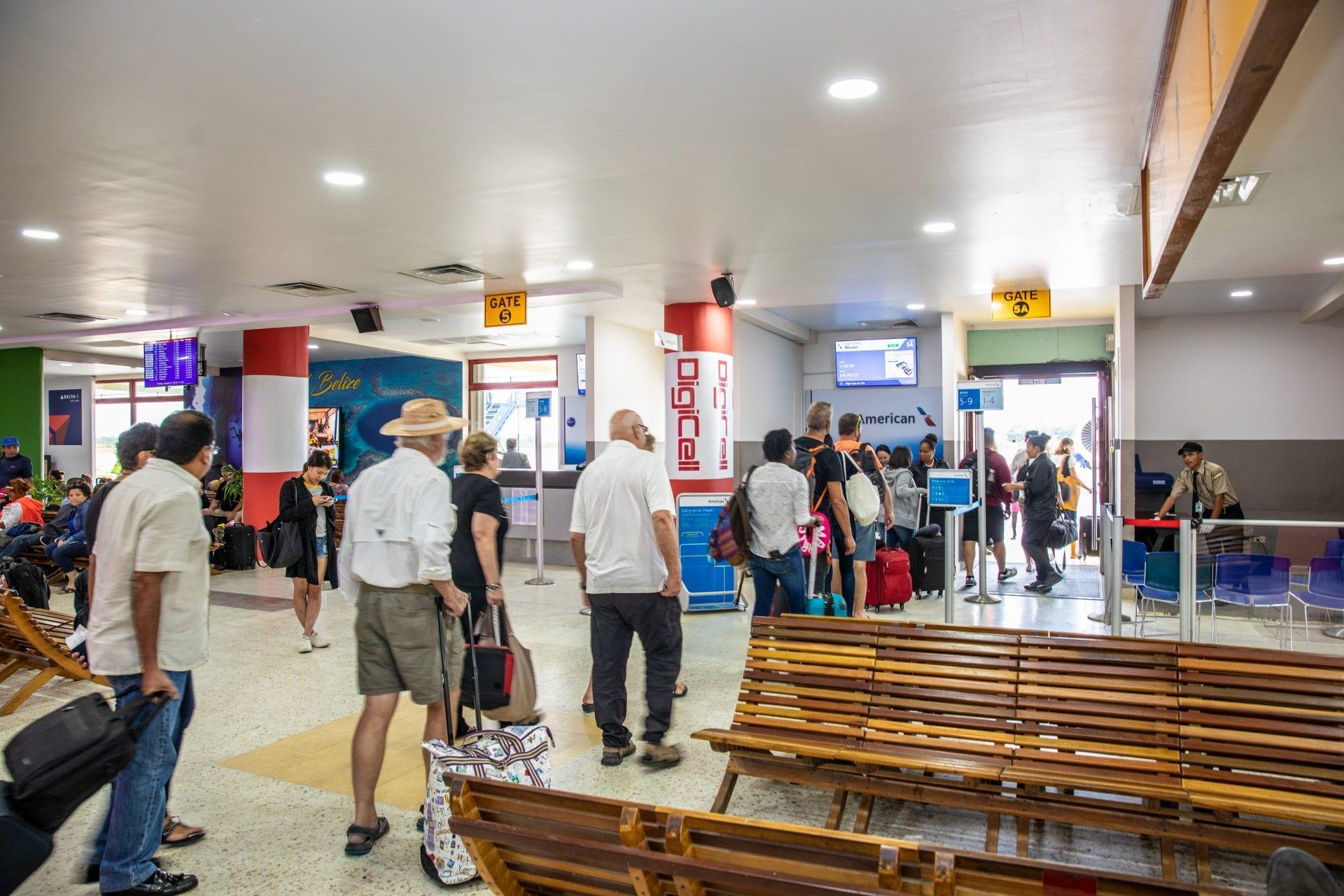 Philip Goldson international airport belize departures