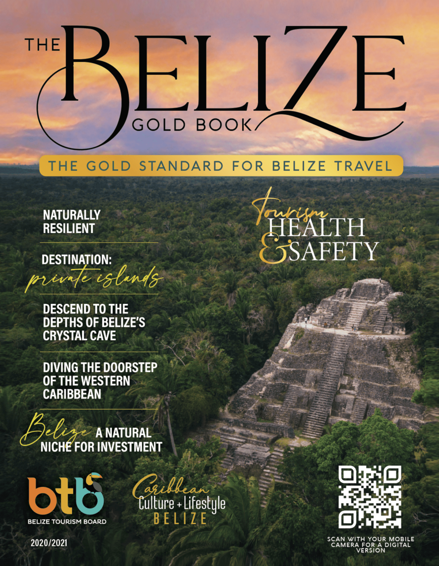 belize gold book 2nd cover lamanai