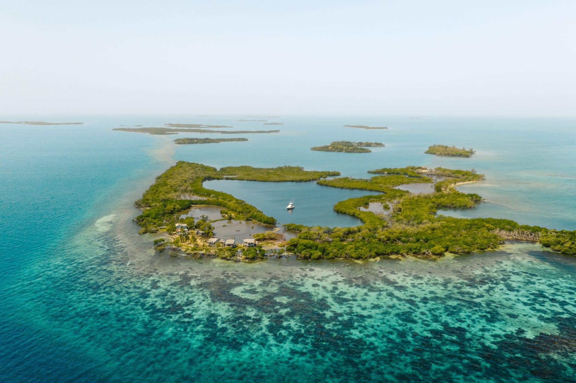 coastal lagoon Belize Barrier Reef