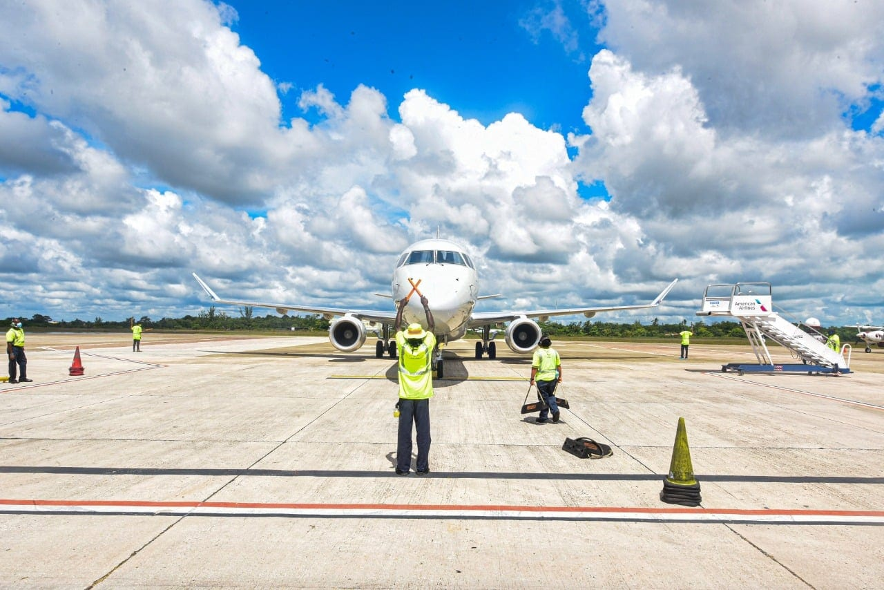 belize airport Philip goldson tarmac