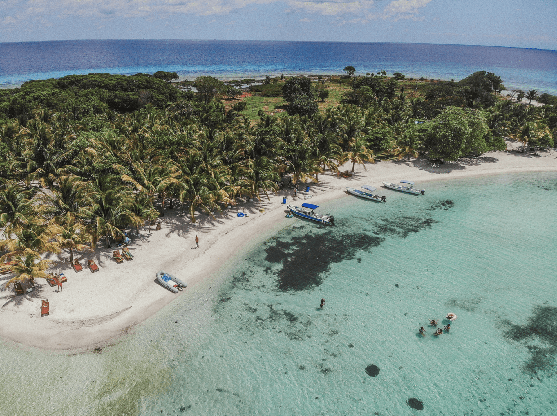aerial-moho-caye-southern-belize-placencia-caribbean
