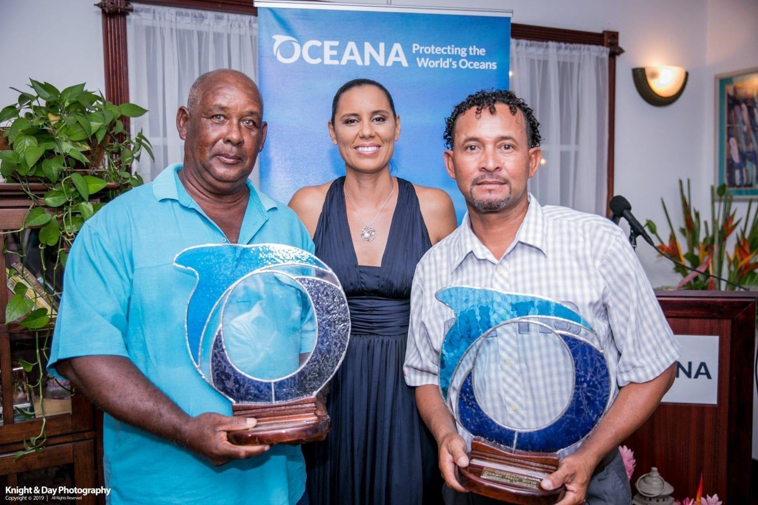 The 2019 Oceana Belize Ocean Hero Awards Vice President Janelle Chanona