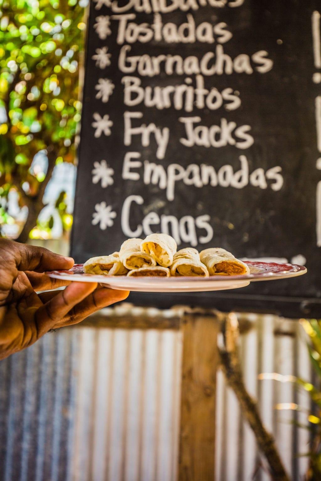 belize food tours tacos orange walk
