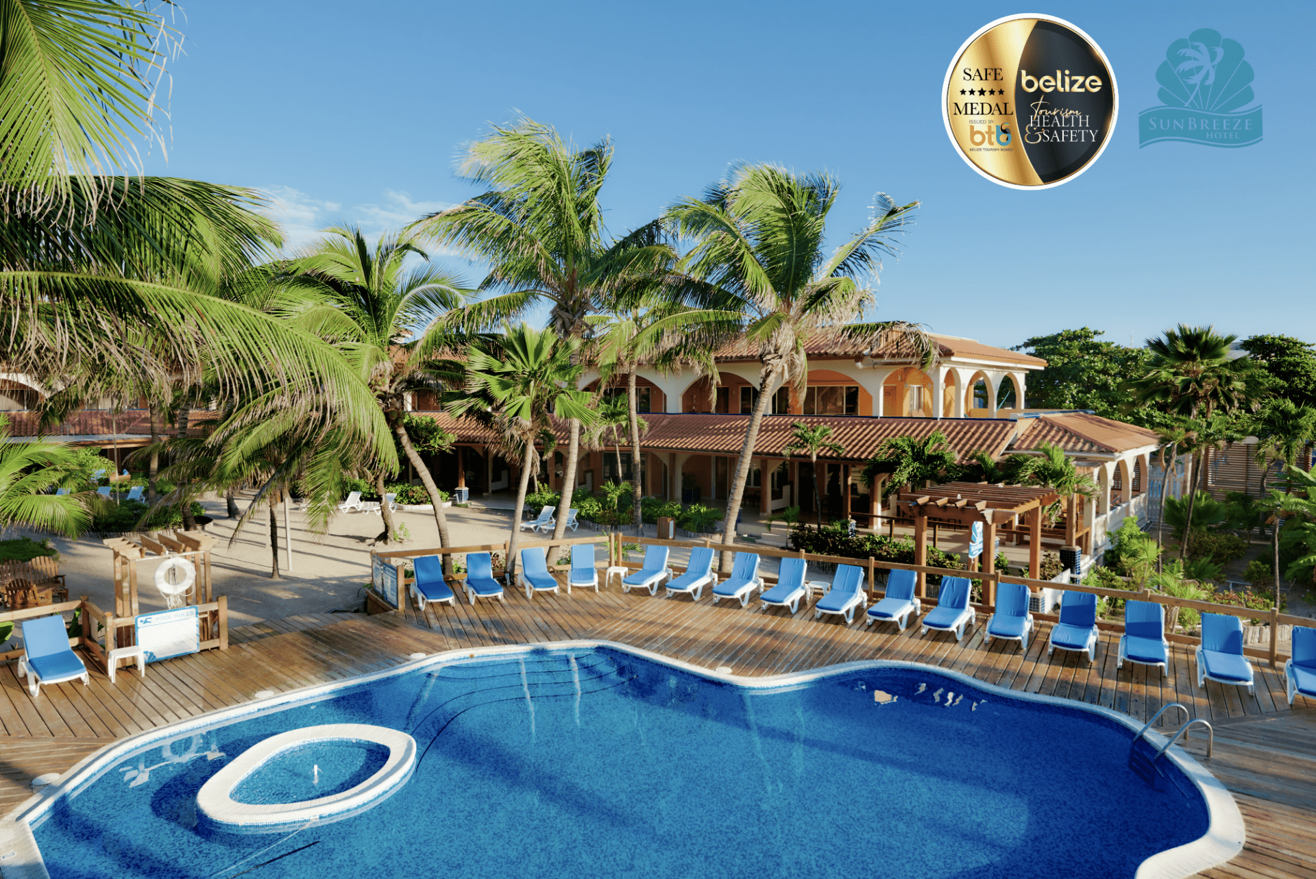belize gold standard hotel approved ambergris caye