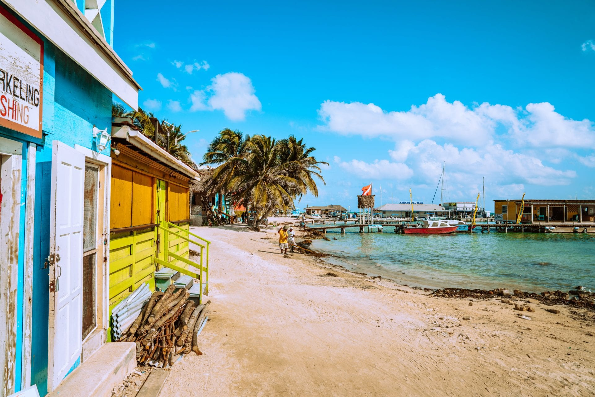 ambergris caye belize beach Canada moving