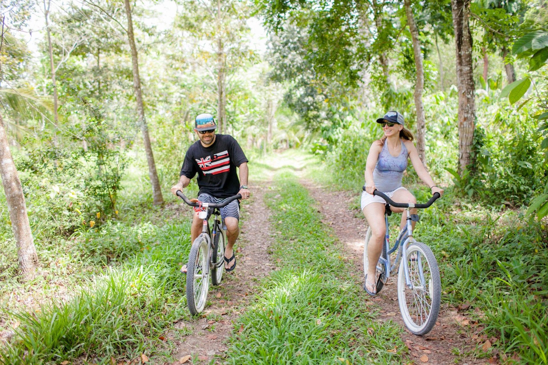 Bikes UK Brits Copal Tree lodge belize