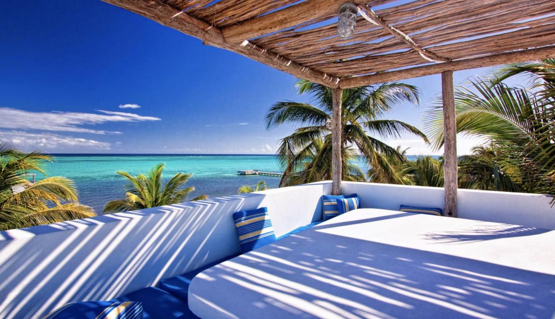 luxury villa Matachica Resort belize sea view