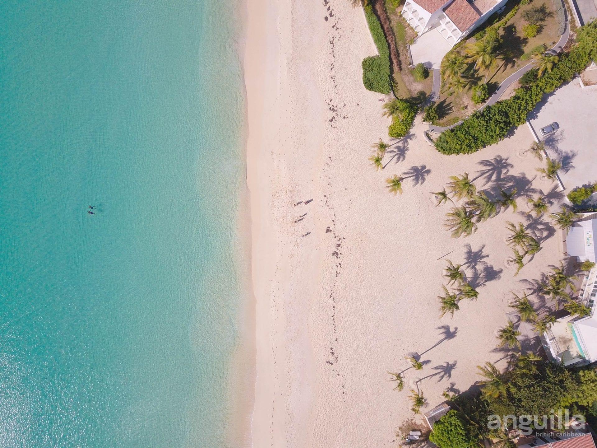 anguilla tourist board aerial beaches