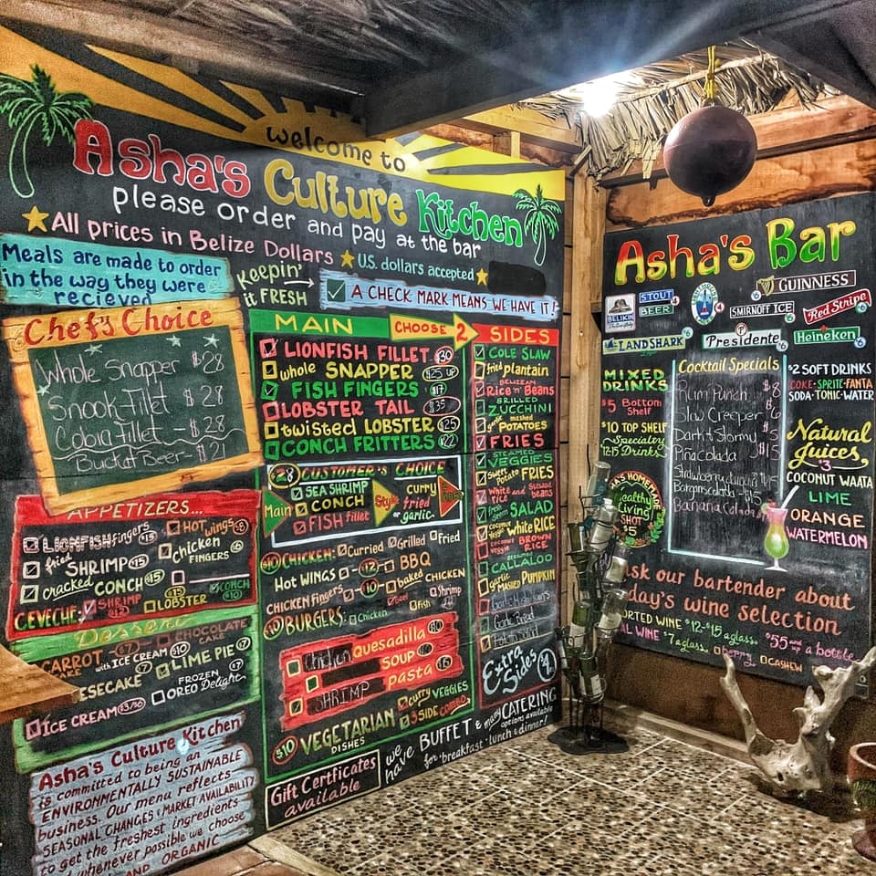 ashas culture kitchen punta gorda belize by EricCindy Noel